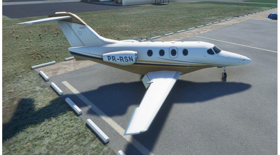 BLG Aeronaves estáticas